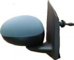 Toyota Aygo [05 on] Complete Wing Mirror Unit - Primed